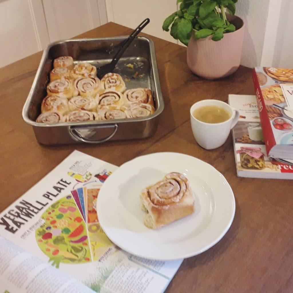 Girelle alla cannella per colazione