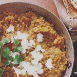 Dhal indiano con lenticchie rosse