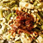 pasta con asparagi e funghi