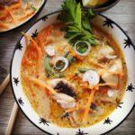 Tom Kha Gai - Zuppa Thailandese vegan