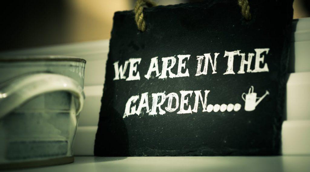 siamo in giardino